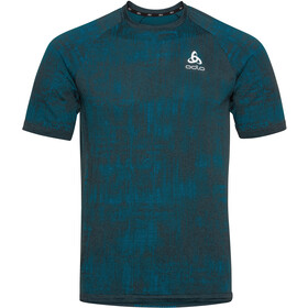 Odlo Blackcomb Pro Crew Neck SS T-Shirt Men tumultuous sea/submerged